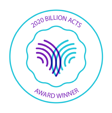 2020 Billion Acts Award Winner